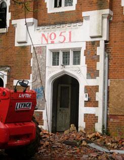 Demolition of 51 Drayton Green