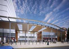 Ealing Broadway Station canopy delayed