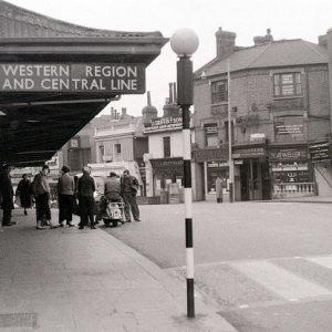 Ealing Broadway station - 1960