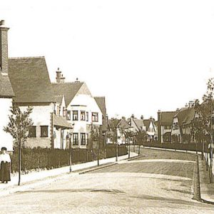 Ludlow Road, Brentham – 1910