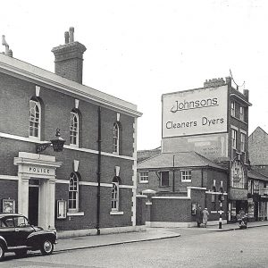 Police Station, High St - c1960