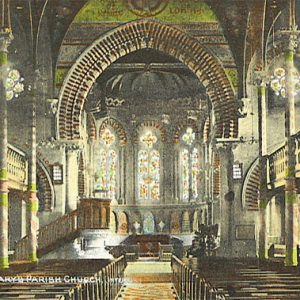 St Marys Church Interior – 1909