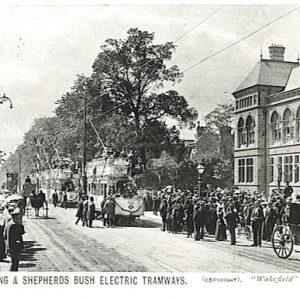 Tram Opening, Ealing Town Hall – 1901