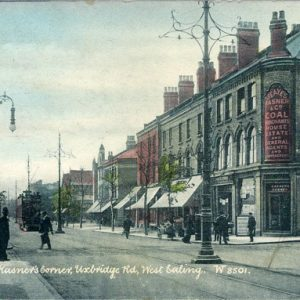 Uxbridge Road, West Ealing – 1905