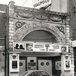 Walpole cinema, Bond Street - 1972