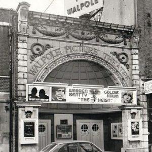 Walpole cinema, Bond Street - 1972