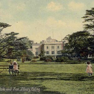 Walpole Park and old Manor House – 1906