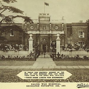 War Memorial, Ealing Green – 1921