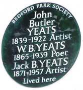 Yeats plaque