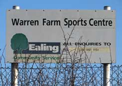 Warren Farm Sports Centre