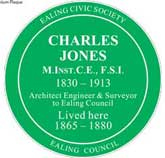 Charles Jones plaque
