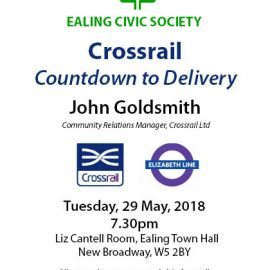 Crossrail event poster