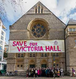 Crowd funding for Victoria Hall