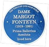 Margot Fonteyn plaque